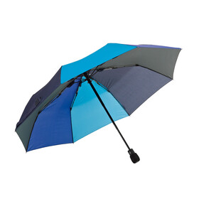 EuroSchirm light trek automatic Regenschirm blau/hellblau
